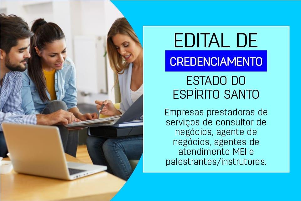 Edital de credenciamento