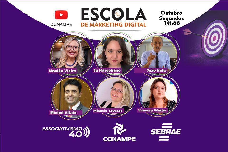 Escola de Marketing Digital da Conampe